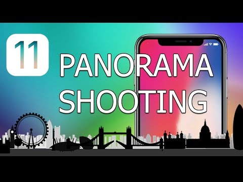 How to change panorama shooting direction on iPhone with iOS 11