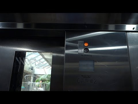 Westinghouse Hydraulic Elevator @ Government Center Station, Miami FL, USA.