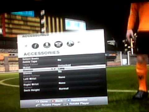 FIFA 12 How to create a player.