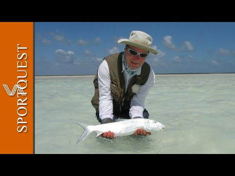 Bonefish Fishing‬ Christmas Island, stunning flats and non stop action.