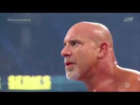 WWE Survivor Series 2016 Goldberg vs Brock Lesnar (FULL)