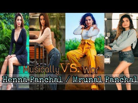 Xxx Mp4 Henna Panchal V S Mrunal Panchal Tik Tok Music War Musically India Compilation 3gp Sex