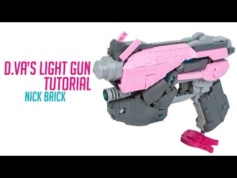 Tutorial: LEGO D.Va's Light Gun - Overwatch