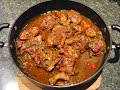 Jamaican Brown Stew Chicken Recipe Video