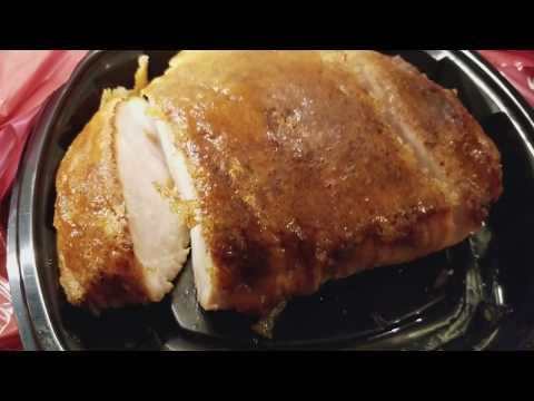 Honey Baked Ham Turkey Breast and Sides