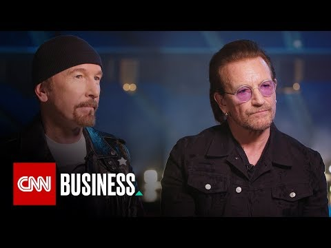 U2's Bono and The Edge on how technology brings them closer to fans