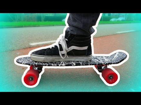 LEARN HOW TO RIDE A PENNY BOARD!