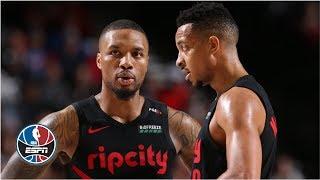 Damian Lillard and CJ McCollum take Scottie Pippen behind the scenes in Portland | NBA Countdown