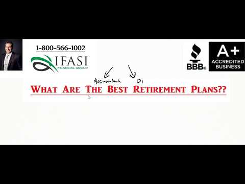 Best Retirement Plans - What Are The Best Retirement Plans