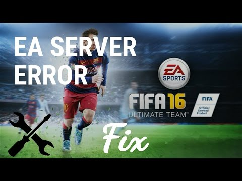 How to fix EA server error | FIFA 16 UT Android