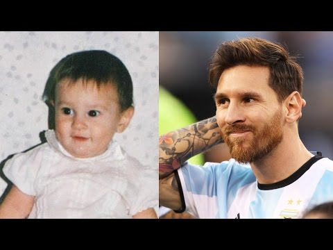 Lionel Messi Transformation Then And Now (Face & Hair & Hairstyle) | 2017 NEW