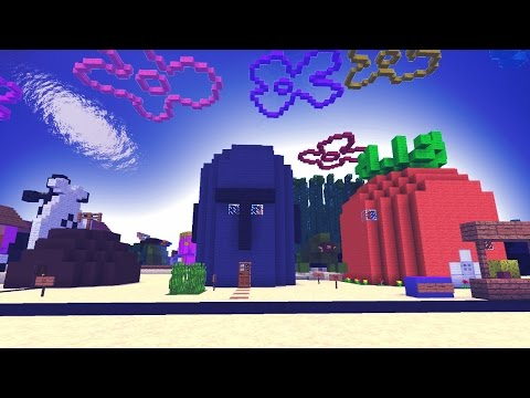 Spongebob Bikini Bottom in Minecraft Pocket Edition