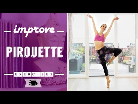 4 Exercises to Improve Pirouette | Lazy Dancer Tips