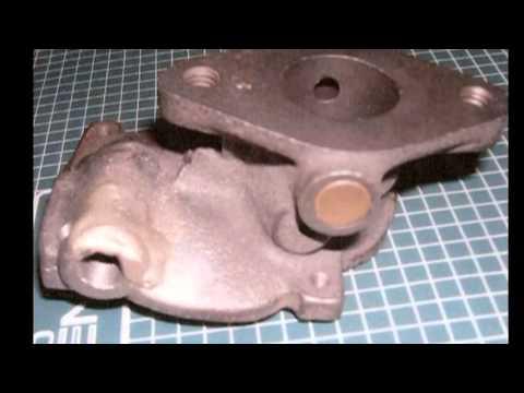 Cómo roscar y realizar una soldadura fuerte en  un cuerpo de carburador