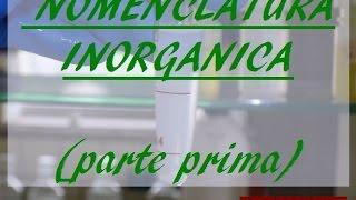 Nomenclatura chimica inorganica: prima parte - Corso Online di Chimica Generale e Inorganica