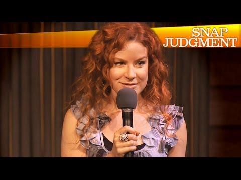 Katharine McEwan Rocks Snap Judgment LIVE!