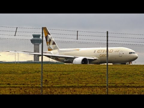 January 2018 Planespotting at London Stansted Airport