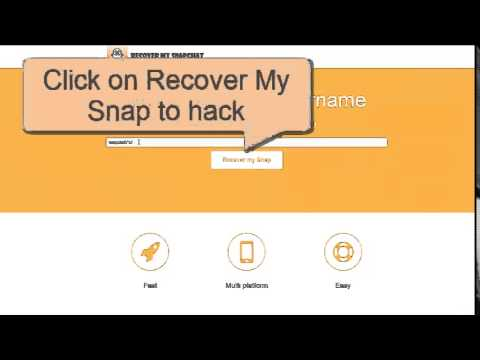 Recover your Snapchat Online for FREE [EASY STEPS]