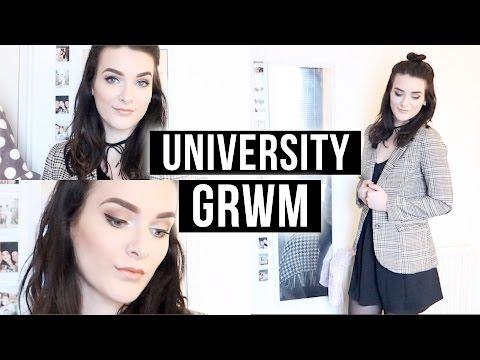 University Get Ready With Me | ohhitsonlyalice