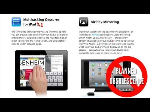 Enable Multitasking Gestures and Display Mirroring on iPad 1