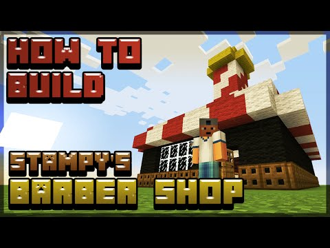 How to build Stampy's Barber Shop! - Minecraft Tutorial