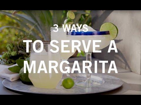 3 Ways to Serve a Margarita