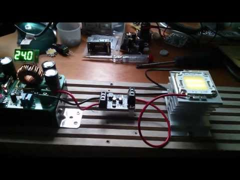 Using a 5W LED Driver Module on a 20W LED - Seriously Overclocked