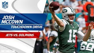 Josh McCown Puts Together a Quick TD Drive Against Miami! | Jets vs. Dolphins | NFL Wk 7 Highlights