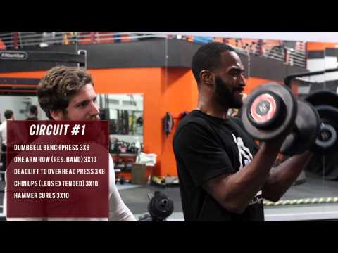 MMA Circuit Training (Upper Body)