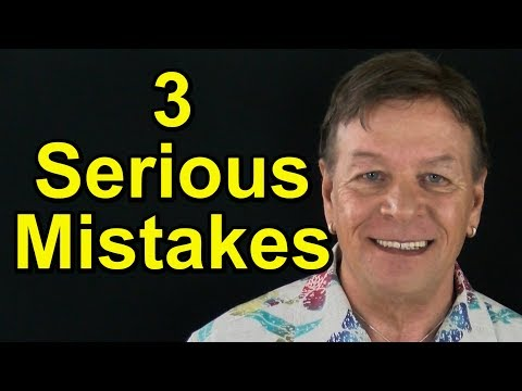 3 Serious Law of Attraction Mistakes