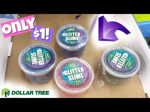 $1 AMAZING SLIME AT DOLLAR TREE!!