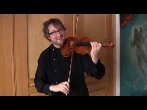 INCREDIBLE STACCATO on the Violin Using Only Two Fingers played by A.Shonert