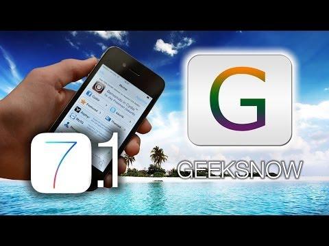 Jailbreak iOS 7.1 Tethered & Cydia - GeekSn0w Windows [Solo iPhone 4]