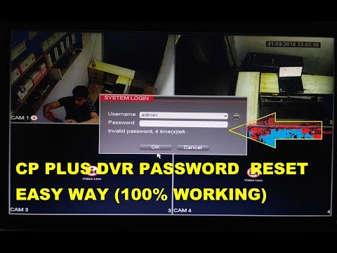 HOW TO CP PLUS DVR ADMIN PASSWORD RESET TUTORIAL STEP BY STEP (100% WORKING)