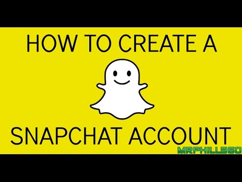 How To Create A Snapchat Account | UPDATED | HD