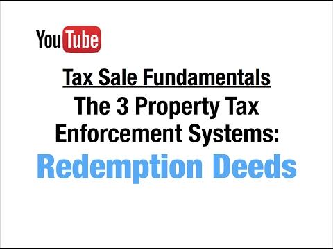 Redemption Tax Deeds (Texas): Tax Sale Fundamentals