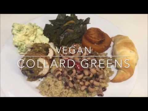 Lip Smackin Vegan Collard Greens! | Vegan Soul Food