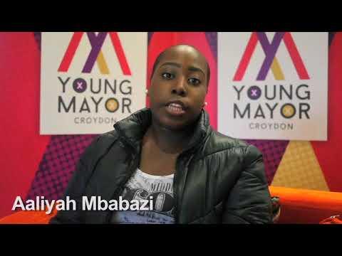 Croydon Young Mayor candidate - Aaliyah Mbabazi