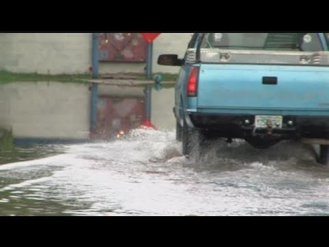 Heavy rain has Lee County neighborhoods stuck with standing water
