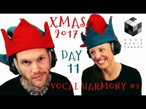 Write Counterpoint Vocal Harmony (How to Write Christmas Songs: Day 11) | Hack Music Theory