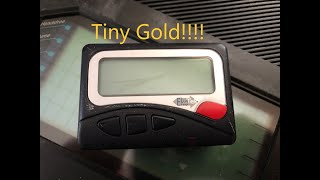 Scrapping A Pager For Free Gold! -moose Scrapper