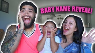 Download BABY NAME REVEAL! ** NEW INTRO** Video