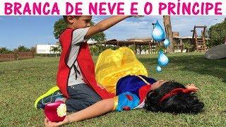 BRANCA DE NEVE E O PRINCIPE - Historinha Princesa Disney Branca de Neve Vida Real