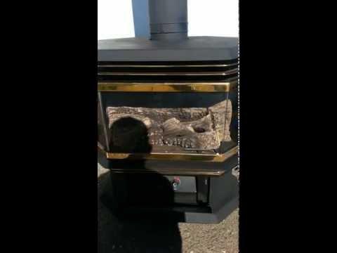 DIRECT VENT Regency u45 LPG (propane) Gas Log Fireplace FOR SALE