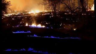 The Blue Flames Of Kilauea + Update