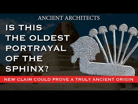 DISCOVERY: Is THIS the Oldest Portrayal of The Sphinx?   Ancient Architects