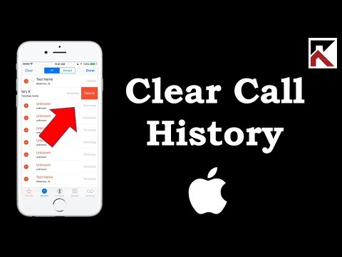 How To Clear Call History iPhone