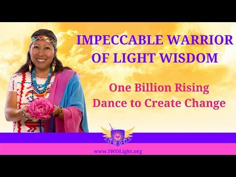 One Billion Rising-Dance to Create Change. Peace Mother Geeta Sacred Song