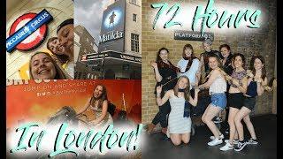 TRAVEL VLOG: 72 HOURS IN LONDON!