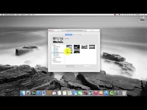 Mac OS X: Bureaubladachtergrond wijzigen